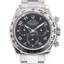 Rolex Daytona White gold 40mm Black United States of America, Georgia, Atlanta