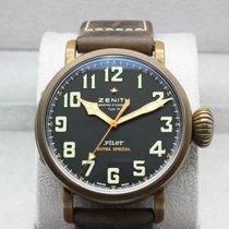 Zenith Pilot Type 20 Extra Special Bronze 45mm Black United States of America, Texas, Frisco