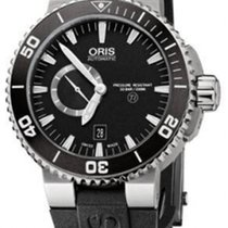 Oris Aquis Titan new Automatic Watch with original box and original papers 74376647154-0742634TEB