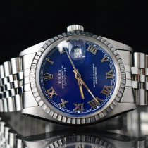 Rolex Datejust Steel 36mm Blue No numerals
