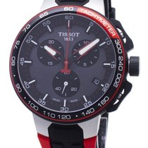 Tissot T-Race Cycling Acero 45mm Negro