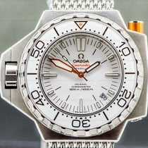 Omega Seamaster PloProf Staal 50mm Wit