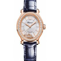 Chopard Happy Sport 275362-5002 New Rose gold 31.3mm Automatic