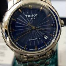 Tissot Ballade Powermatic 80 COSC Steel 39.5mm Blue No numerals