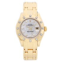 Rolex Lady-Datejust Pearlmaster Or jaune 29mm