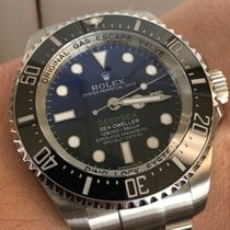 Rolex Sea-Dweller Deepsea Steel 44mm Blue No numerals United States of America, California, Marina Del Rey