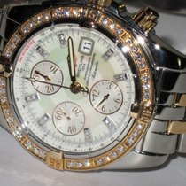 Breitling Chronomat Evolution Acero y oro 44mm Madreperla Romanos