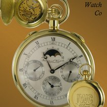 IWC Relógio usado 1970 Ouro amarelo 56mm Romanos Corda manual Só o relógio