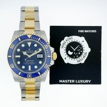 勞力士 116613LB Submariner Date Steel / Yellow Gold Blue Dial