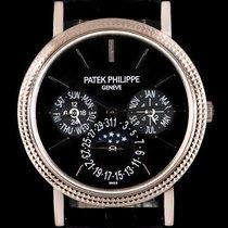 Patek Philippe 18k W/G Perpetual Calendar Ultra Thin Gents...