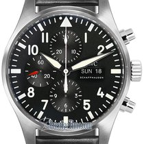 IWC Pilot Chronograph Acciaio 43mm Nero