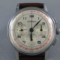 Lemania Steel 35 x 37mm Manual winding 491 pre-owned Canada, Victoria British Columbia