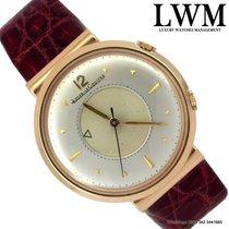 Jaeger-LeCoultre Memovox jumbo silver bicolor dial rose gold 1960
