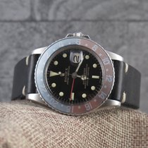 Rolex 1675 GILT GMT Master, fat font insert-Stunning Gloss Dial