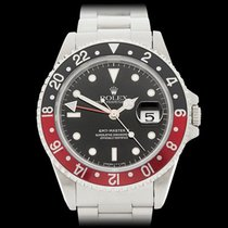 Rolex GMT-Master II Coke Stainless Steel Gents 16710 - W4337
