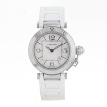 Cartier Pasha W3140002 Stainless Steel Ladies Watch(17071)