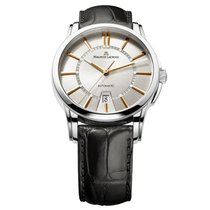 Maurice Lacroix Pontos Date Staal 40mm Zilver