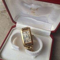 Cartier Tank Américaine 18k Gold Yellow