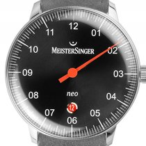 Meistersinger Steel 40mm Automatic NE402 new
