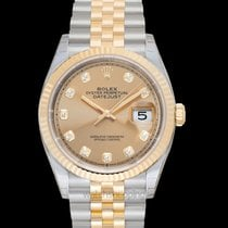 Rolex Datejust Yellow gold 36mm Champagne United States of America, California, San Mateo