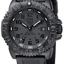 Luminox 44mm Quartz nieuw Navy Seal Colormark Zwart