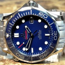 Omega Seamaster Diver 300M Blue Ceramic Box Papers