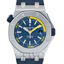 Audemars Piguet Royal Oak Offshore Diver Stahl 42mm Blau