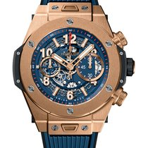 Hublot Rose gold Automatic Transparent Arabic numerals 45mm new Big Bang Unico