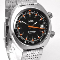 Oris Chronoris Steel 39mm Black United States of America, Indiana, Indianapolis