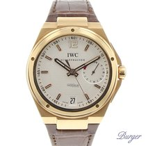 IWC Rose gold Automatic White Arabic numerals 45.5mm pre-owned Big Ingenieur