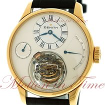 Zenith Academy pre-owned 45mm Rose gold