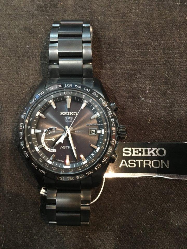 Seiko Astron GPS Solar Chronograph SSE089J1 nuevo