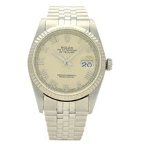 Rolex Datejust 16234 Very good Gold/Steel 36mm Automatic