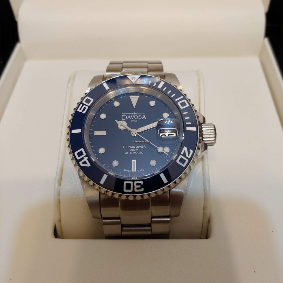 2a586849d Davosa Ternos Automatic - all prices for Davosa Ternos Automatic watches on  Chrono24