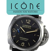 Panerai Luminor Marina 1950 3 Days Automatic Stal 44mm Czarny Arabskie