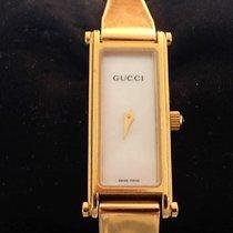 Gucci 12mm Quartz 1995 pre-owned Horsebit Mother of pearl
