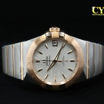 Omega Constellation Men Gold/Steel 38mm Silver No numerals Malaysia, Kuala Lumpur
