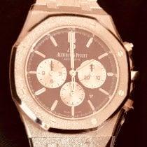 Audemars Piguet Royal Oak Chronograph White gold 41mm Purple No numerals United States of America, New York, Brooklyn