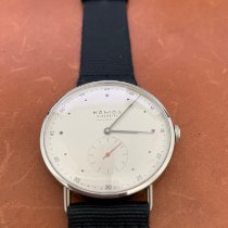 NOMOS Metro Neomatik pre-owned 38.5mm Silver