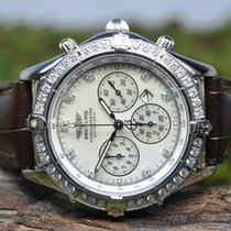 Breitling Shadow Flyback Steel 39mm Mother of pearl