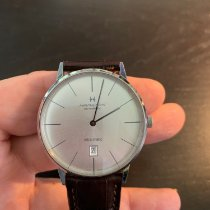 Hamilton Intra-Matic Steel 42mm Silver No numerals United States of America, Maryland, bethesda