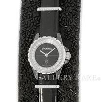 Chanel J12 19mm Schwarz Keine Ziffern