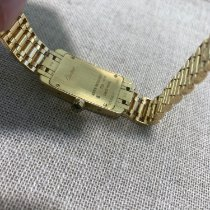 Cartier Tank Américaine Yellow gold 19mm White Roman numerals United Kingdom, Gateshead