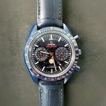 歐米茄 Speedmaster Professional Moonwatch Moonphase 陶瓷 44.2mm 藍色