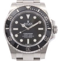 Rolex Submariner (No Date) 40mm Чёрный