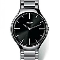 Rado True Thinline Ceramic 39mm Black United States of America, Florida, Sarasota