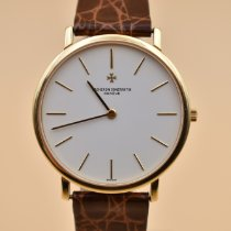 Vacheron Constantin Patrimony Yellow gold 33mm White No numerals United States of America, Texas, Houston