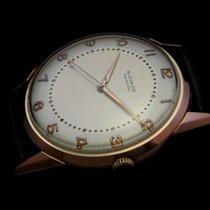 Movado Vintage Pink Solid Gold 18k Mechanical Watch