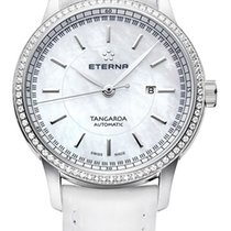 Eterna Women's watch Tangaroa 32mm Automatic new Watch with original box and original papers
