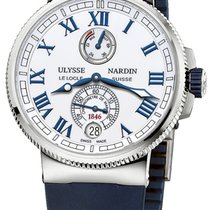 Ulysse Nardin Marine Chronometer Manufacture 43mm 1183-126-3/40